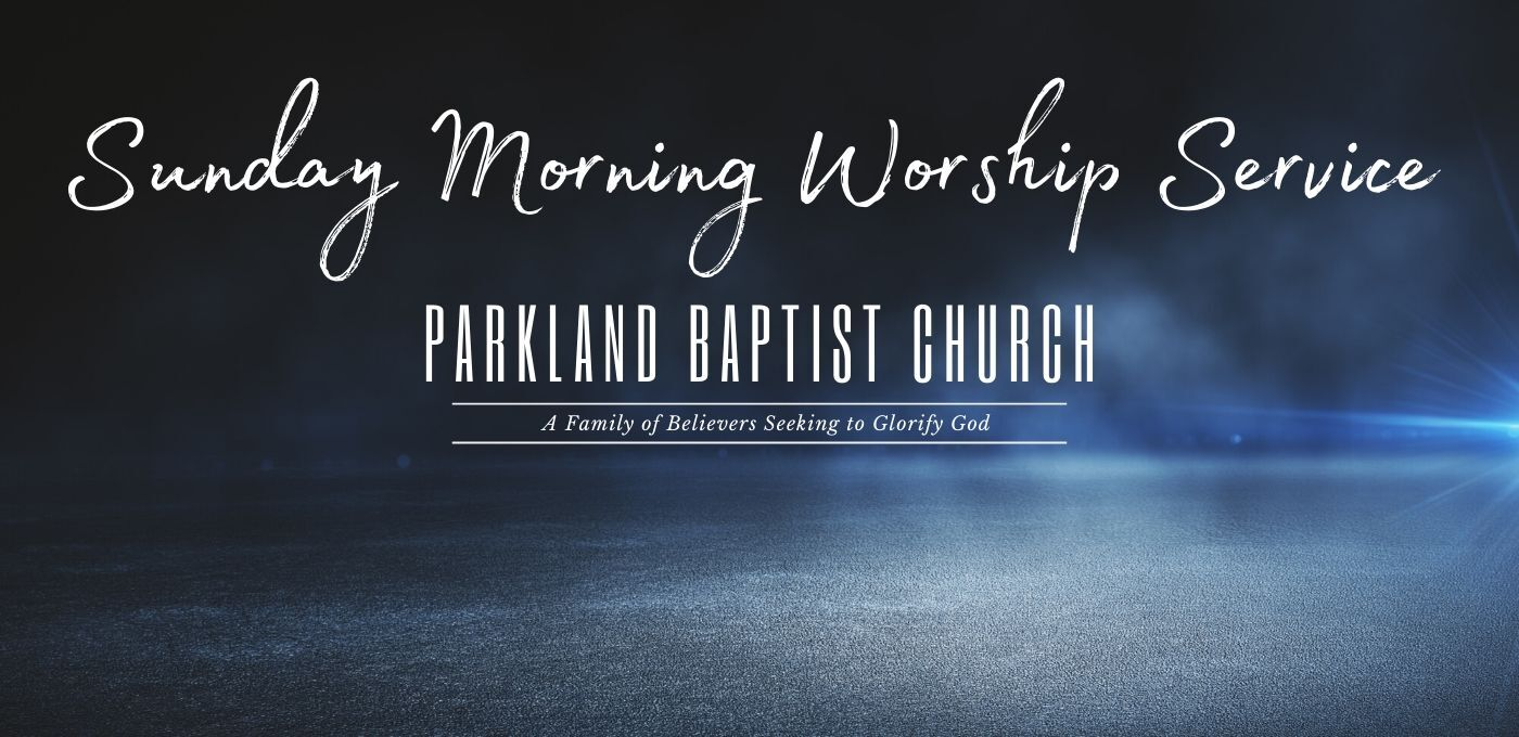Sunday Morning Worship Service Slider